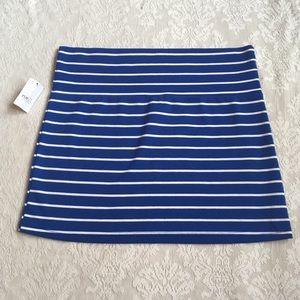 Super cute Rue 21 striped soft stretchy mini skirt